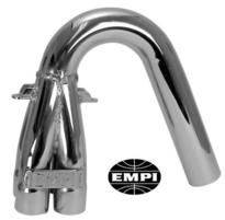 "bend or downswept collector 1 5/8"" pipe chrome offroad Empi"