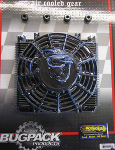 oil cooler & fan kit 72 plate cooler w/ fan - Bugpack