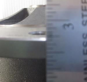 disc brake rotor rear 5 x 205 IRS or Swing axle short / long Empi 12