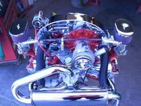 coil 40,000 volt COMPU-FIRE chrome 3 ohm - w/o bracket - epoxy filled 17-2959