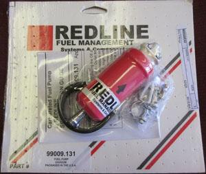 fuel pump electric 6 psi - regulator required Redline Weber