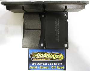 Disc brake pads set REAR fits HISpec rear calipers on Rewaco RF's