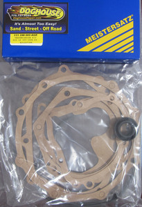 transmission gasket set w/ rear main seal German - PPI