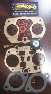 carburetor gasket set DRLA 45 complete w/o float DL4K