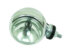 "headlight off road 55 watt 4"" spot chrome - Empi"