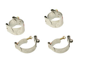 sway bar mounting clamp set for ball joint or link pin kits 4 pc Empi