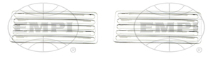 deck lid grill set aluminum 2 piece for bugs