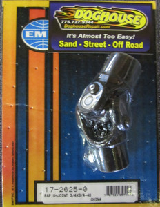 """u-joint open for 3/4"""" smooth x 3/4"""" 48 spline"""