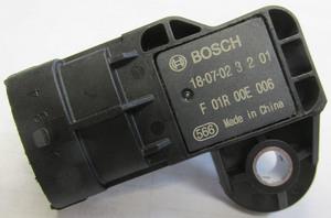 MAP sensor 029 at throttle body - 1 hole