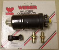 fuel pump electric 45 psi - regulator required FI Redline Weber