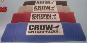 "harness pad set Crow - Black nylon 2"" seat belt pads"