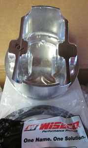 pistons only - 94mm Wiseco flat top w/ pockets Scat