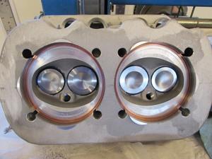 head spacer set bug .060 x 94 copper racing head gasket Empi