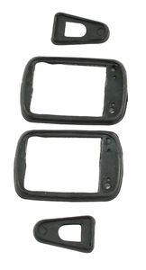 door handle seal set left & right bug 60-65 Empi