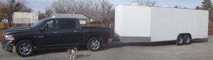 2014 Trail Boss 28' V nose custom hauler