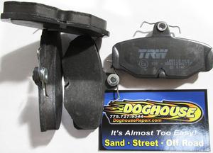 Disc brake pads set REAR fits FX, RF, CT Rewaco