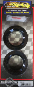 """Soft Spring Plate Grommets round 1 7/8"""" pair lrg IRS USA Bugpack black Empi"""