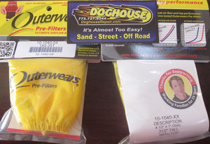 """outerwear YELLOW for 4 1/2"""" x 7"""" x 3 1/2"""""""