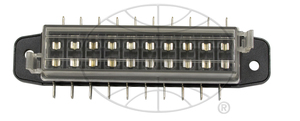 fuse box for GM style fuses weather proof 10 capacity Empi
