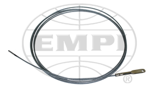 accelerator cable large HD racing style 9' long bare throttle cable Empi bulk