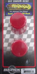 snubber front PAIR urethane bug etc 53-65 Bugpack red USA Empi
