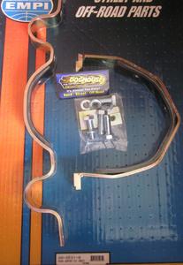transmission mount set padded strap kit for front of trans holding Empi 2 bolt