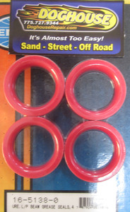 grease seal set front end link pin red urethane Empi