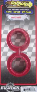 "bushing set spring plate 1 3/4"" - 2"" flanged pair urethane USA Bugpack RED Empi"