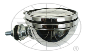 "headlight off road 100 watt 6"" spot chrome - Empi"