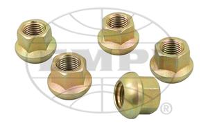 "wheel nut set 14mm x 1.5 stock zinc ""ball"" Porsche, vanagon & press in Empi"