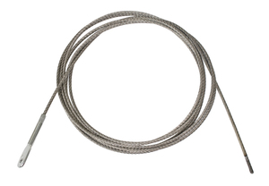 accelerator cable large HD racing style 11' long bare throttle cable Bugpack Empi