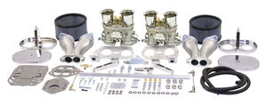 Empi Gen 3 HPMX dual 44 deluxe carb kit for type 1 engines (chrome)