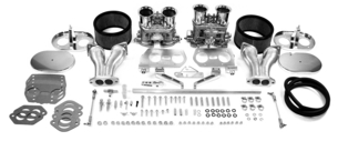 Empi Gen 3 HPMX dual 40 carb kit for type 1 engines (chrome)