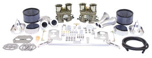 Empi Gen 3 HPMX dual 40 deluxe carb kit for type 1 engines (chrome)