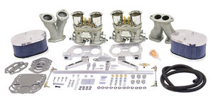 carb kit dual 44 deluxe for type 1 engines (polished billet) Gen 3 HPMX