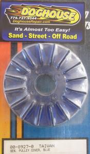 alternator or generator pulley COVER BLUE PLASTIC Empi