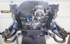 carb kit dual 40 deluxe for type 1 engines (polished billet) Gen 4 HPMX