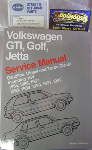book bentley gti golf jetta gas,diesel & turbo diesel 85 to 92