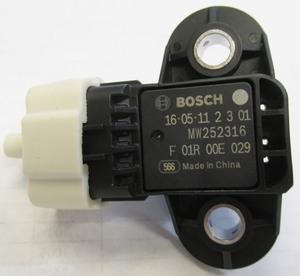 MAP sensor 029 at throttle body - 2 hole