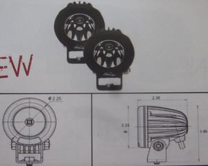 Discovery 10 watt single LED light kit - spot Black 1 LED each
