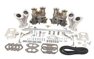 carb kit dual 44 IDF standard for type 1 engines Weber hex Empi no air
