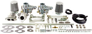 carb kit dual 34 for type 1 engines dual port Empi EPC hex