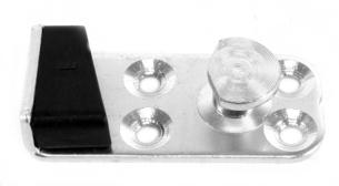 door striker plate bug left side 68-77 & type 3 67-73 Empi