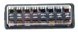 fuse box 8 circuit 10/25 amp Ceramic for bug 60-66 Empi