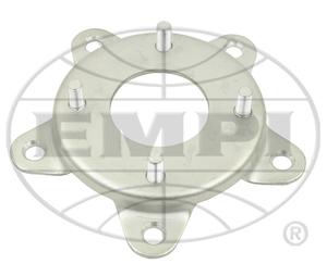 wheel adapter set steel VW bug 4 lug rim onto VW bug 5 lug drum Empi