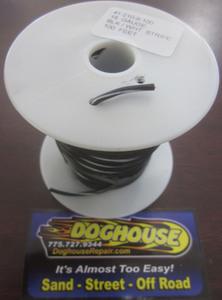 Primary wire 18 gauge black & white striped K-Four 100'