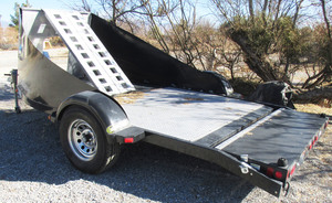 2008 Maxey trailer - trike & Rhino hauler with ramps
