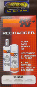 air filter cleaner & spray oil in K & N kit for gauze filters K99-5000