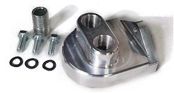 oil filter adapter kit ports face up Billet Empi
