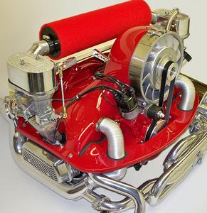 """High Flow Air Filter - 18"""" BLUE fits with Bergmann Porsche kits only"""